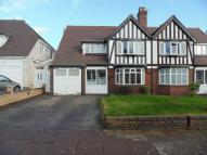 semi detached property in Orchard Road, Erdington...