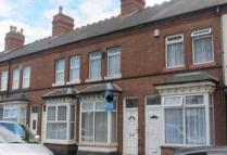 1 bedroom Terraced house in Marsh Hill, Erdington...
