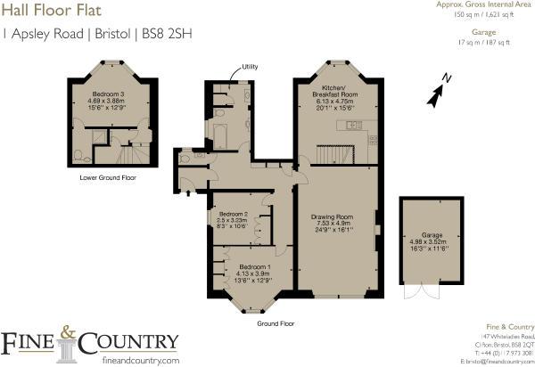 Hall floor flat, 1 Apsley Road, Bristol BS8 2SH-Layout1_Coloured