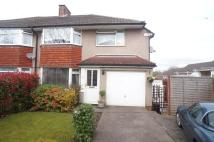 semi detached house for sale in Carisbrooke Way, Cyncoed...
