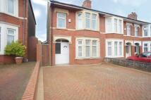 property to rent in Cromwell Road, Birchgrove, Cardiff CF14 1UQ