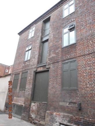 Warehouse front