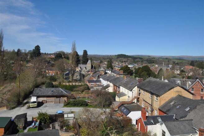 Views over Builth Wells