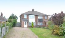semi detached house in Holbrook Road, Stutton...