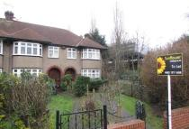 3 bedroom semi detached property in Ravensbourne Park...