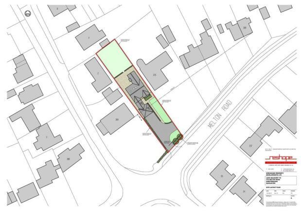 Melton Rd Site Plan