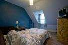Attic Bedroom looking to Cathedral