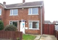 semi detached property to rent in Beamish Road, Billingham...