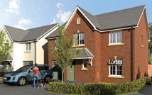 4 bedroom new house in Llangunnor...