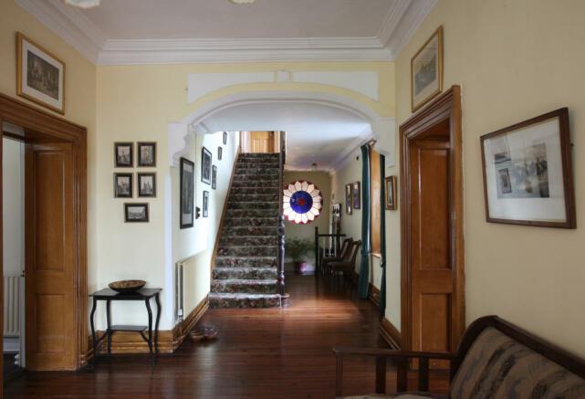 stairs & window