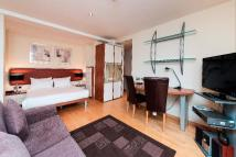 Studio flat to rent in Old Brompton Road...