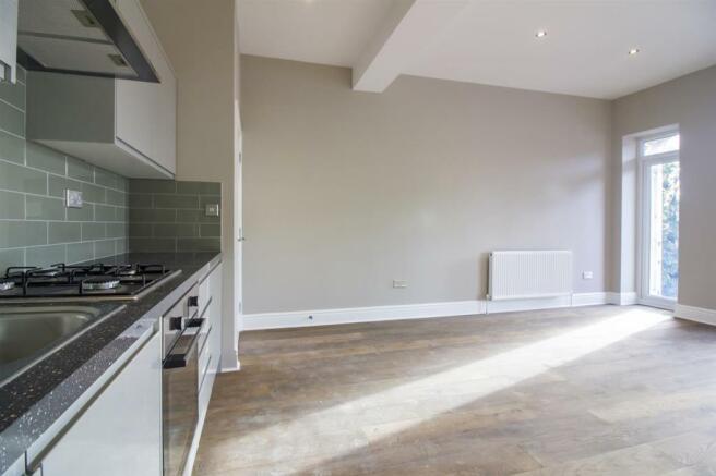 Open aspect kitchen