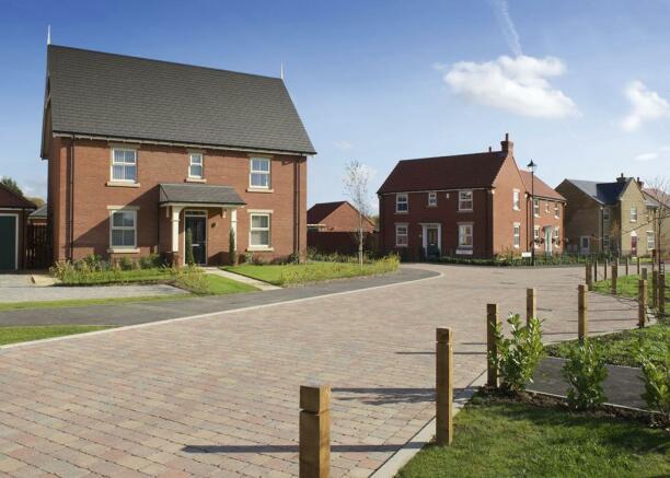 Grey Towers Village street