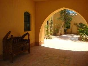 Courtyard entrance