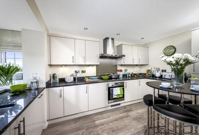 The Woodvale kitchen at Kingley Gate