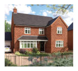 new home for sale in off Hind Heath Road...