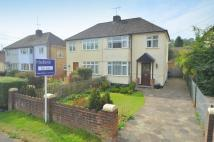 3 bed semi detached home in Asheridge Road, Chesham...