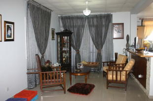 living room in kitch