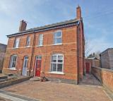 semi detached house in Old Station Road...