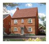 4 bedroom new house in Longford Park Banbury...