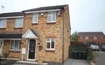 2 bed semi detached property to rent in Ladyfields Way, Holbrooks
