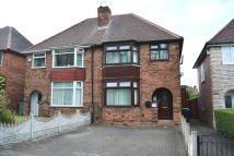 semi detached house in HALES LANE, Smethwick...