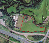 Plot for sale in Roundknowe Lodge Farm...