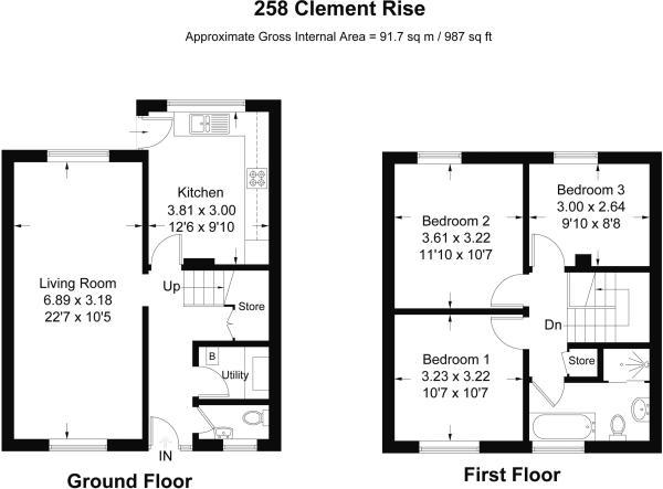 258 Clement Rise