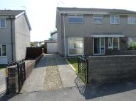 semi detached home for sale in Mervyn Way, Pencoed...