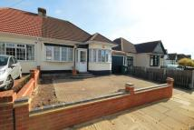 Semi-Detached Bungalow in Clyde Way, Romford, RM1