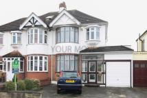 3 bedroom semi detached house in Marshalls Drive, Romford...