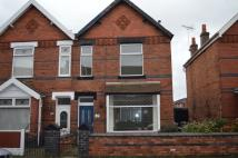 semi detached home to rent in Richmond Road, Crewe...