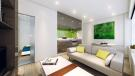 One Bed Living Area