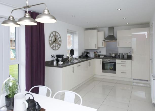 Typical Colchester fitted kitchen