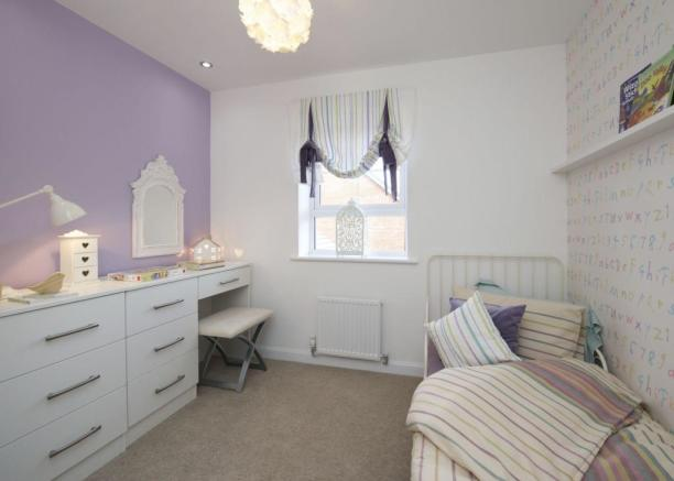Typical Colchester third bedroom