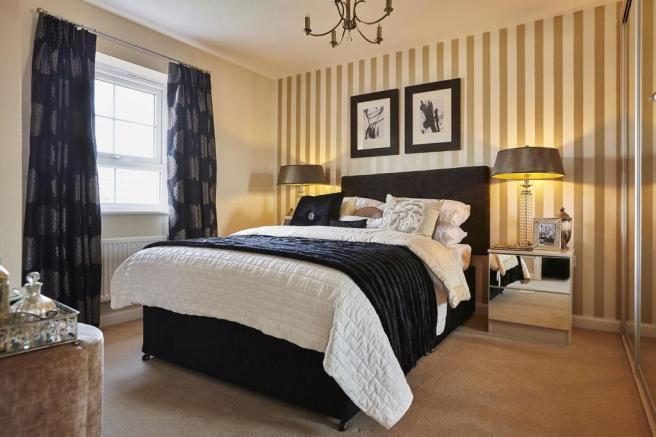 Typical Thornbury master bedroom