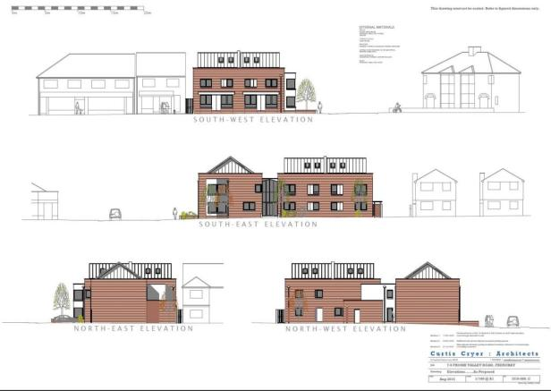 PROPOSED ELEVATIONS.