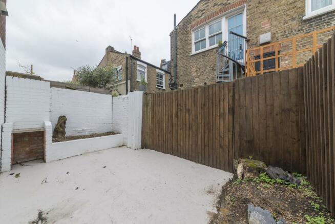 Rear garden space