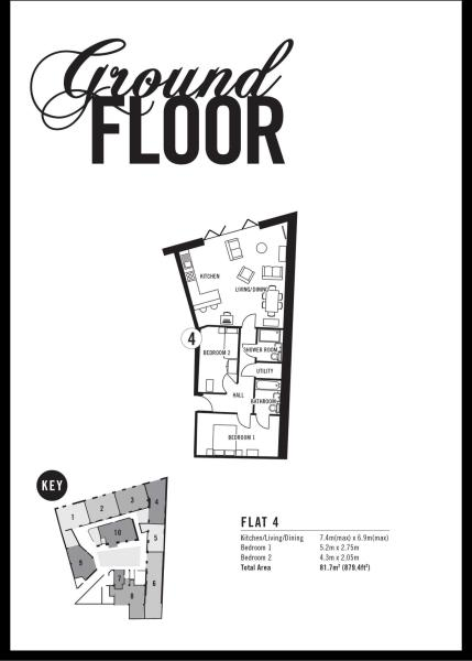 Apartment 4 Floorplan