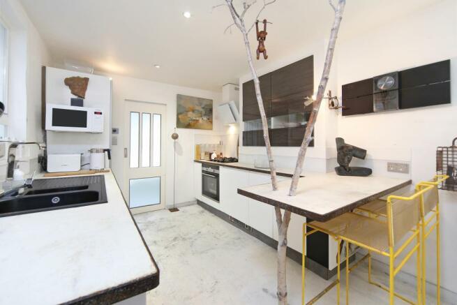 Stylish kitchen space