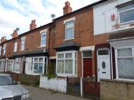 Terraced home to rent in Newcombe Road, Handsworth