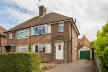 Edwards Road semi detached house for sale