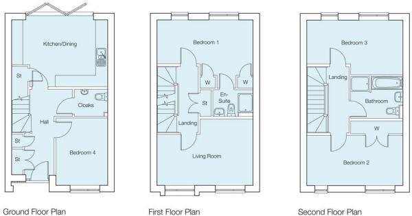 The Hawker Floor Plan