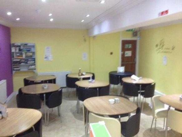 Cafe Seating Area
