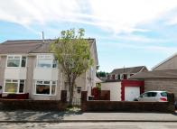 semi detached house for sale in Glanhowy Street, Scwrfa...