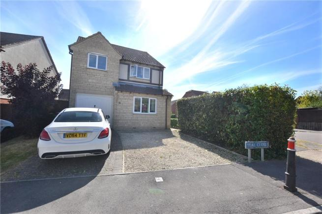 3 Bedroom Detached House For Sale In Teal Close Quedgeley