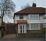 semi detached home in Lawton Road, Huyton...