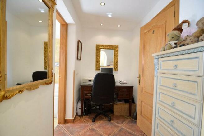 Office in main bedro