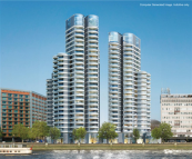 3 bed new Flat for sale in Tower Two, The Corniche...