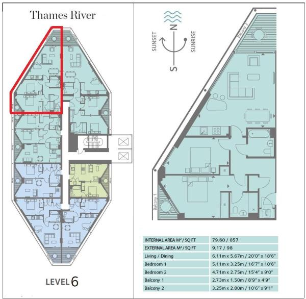 38, 2 Riverlight Qua